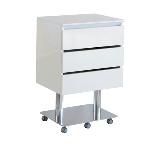Nilo galaxy premium beauty trolley for 2nd hand salon furniture
