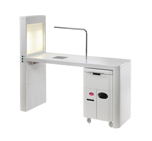 Nilo nails station manicure table for Unique manicure tables