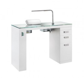 Maletti profy nails manicure table for Manicure table with extractor fan
