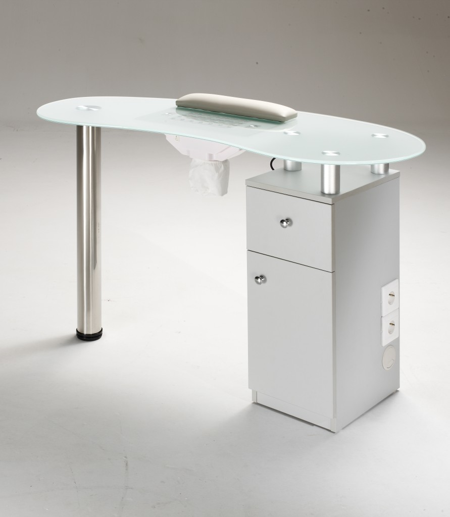 Custom manicure table designs joy studio design gallery for Long manicure table
