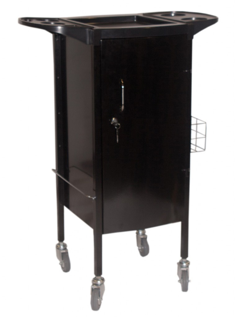 Alicia lockable hairdressing trolley for 2nd hand salon furniture
