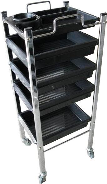 Carlos Hairdressing Trolley