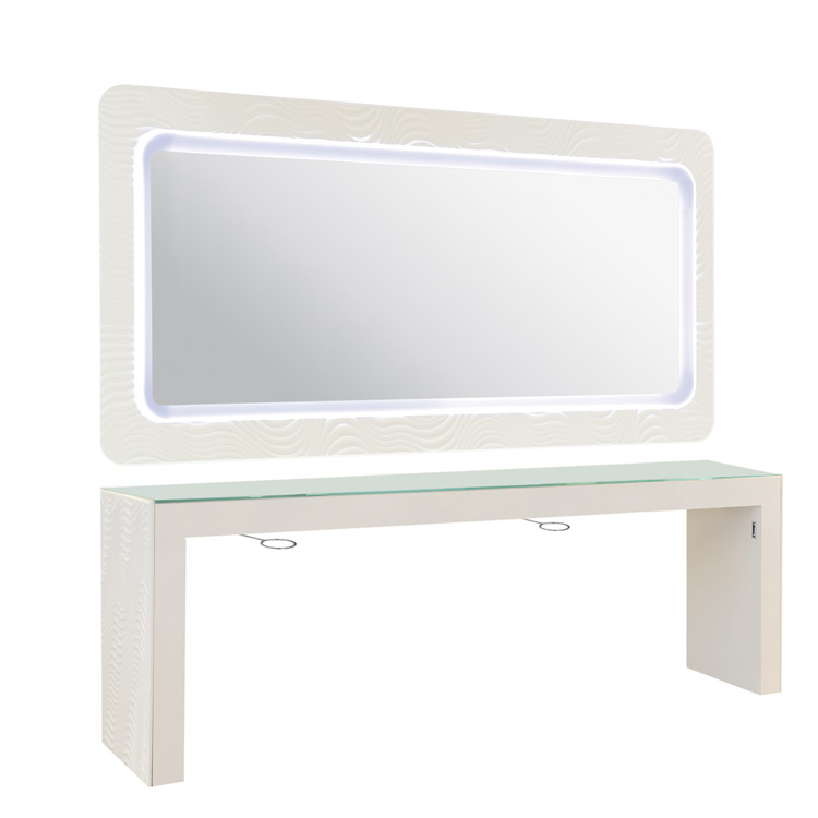 Ultra modern manicure tables joy studio design gallery for Manicure table with extractor fan