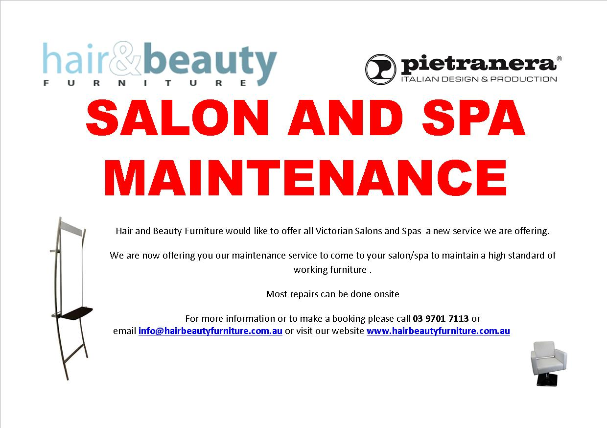 Salon and Spa Maintenance