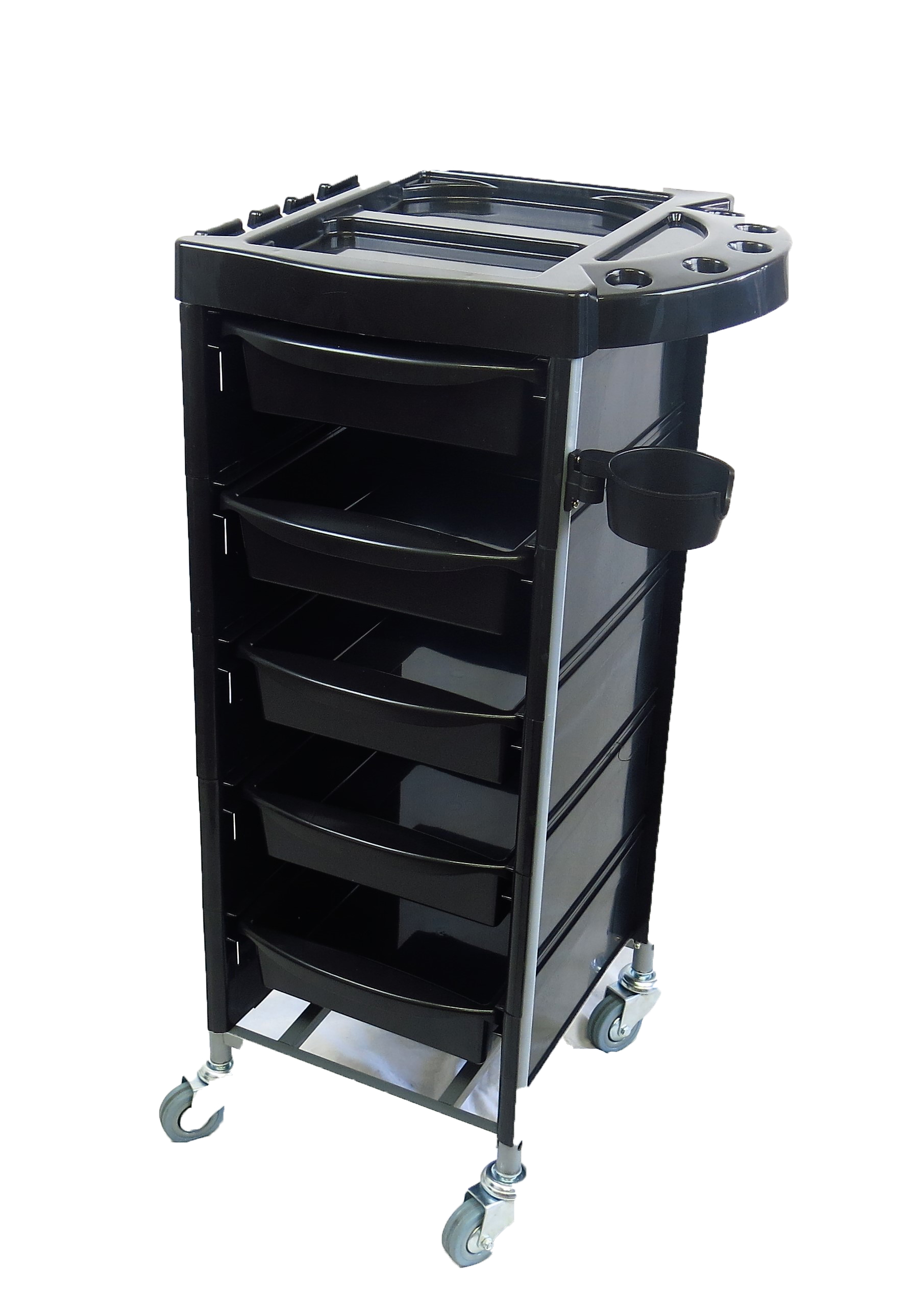Colourist Trolley with Plastic Sides