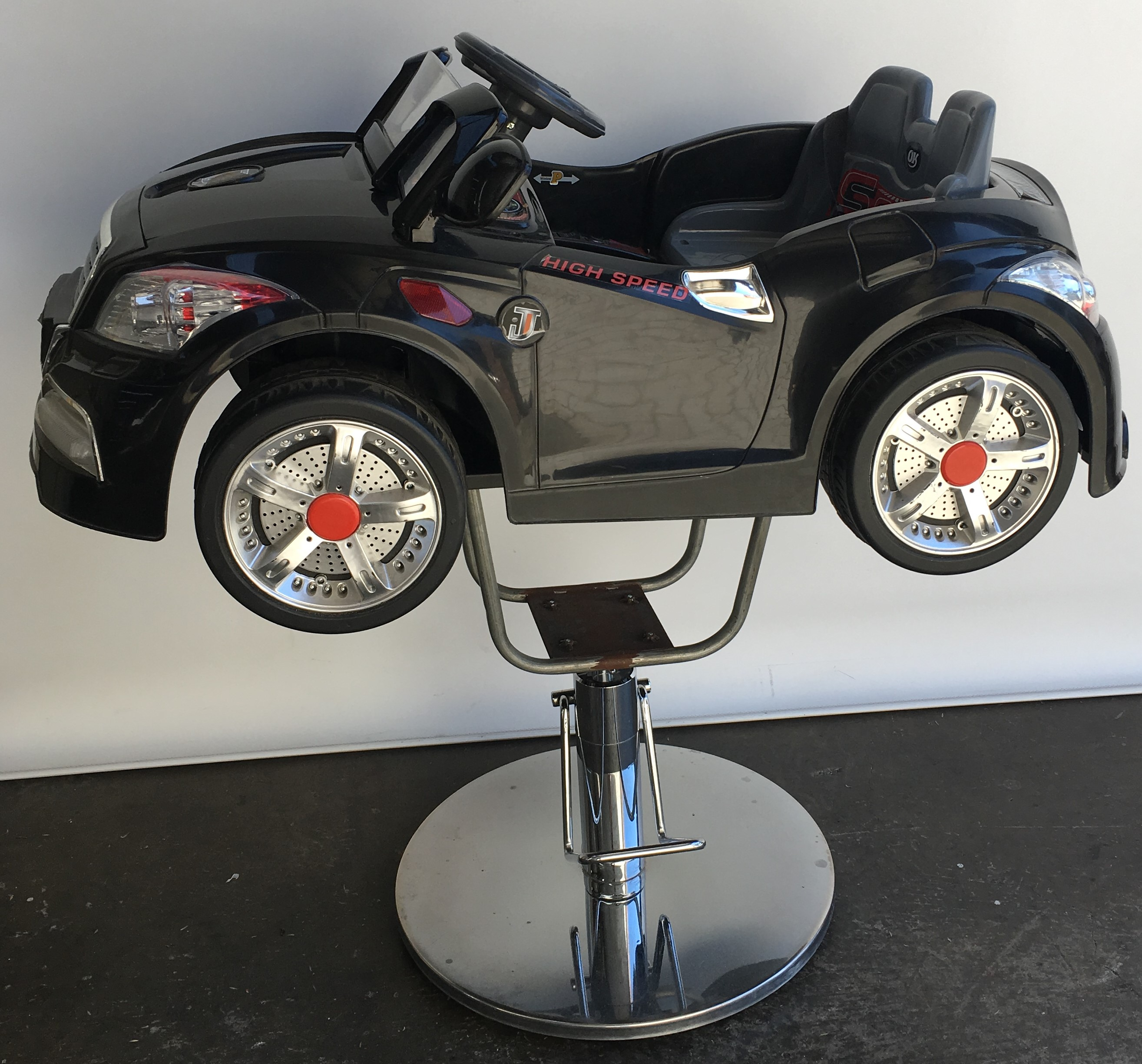 Ex Showroom Display Kids Car Salon Chair