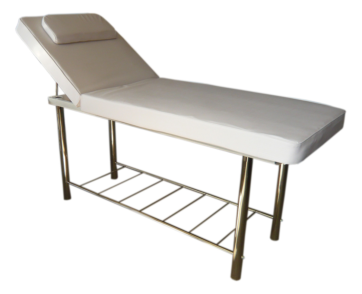 Massage wax bed with rack for Wax chair salon