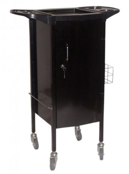 Alicia Lockable Hairdressing Trolley