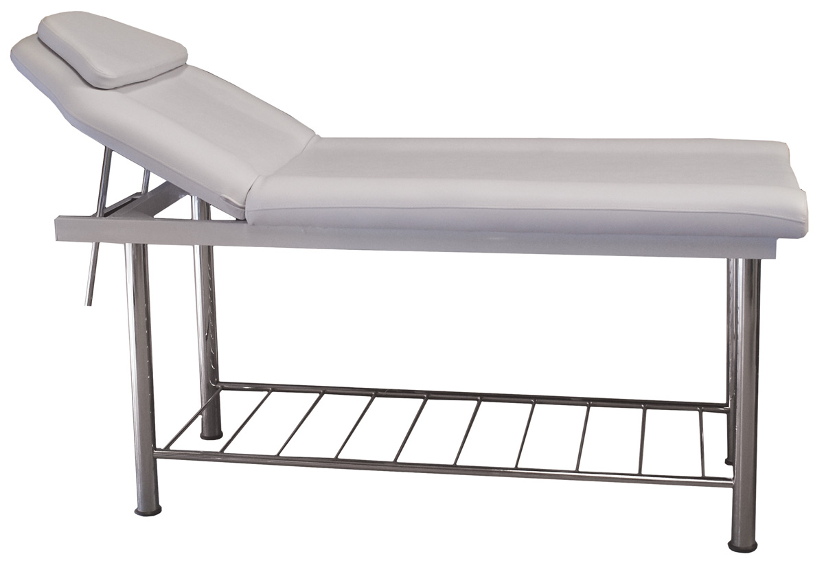 Contour Massage/Wax Bed with Rack