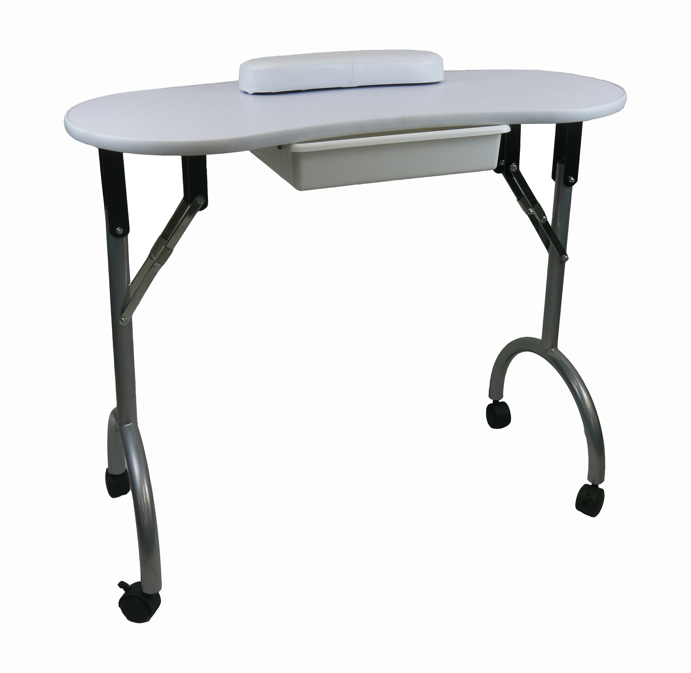 Mindy portable manicure table for Nail table and chairs