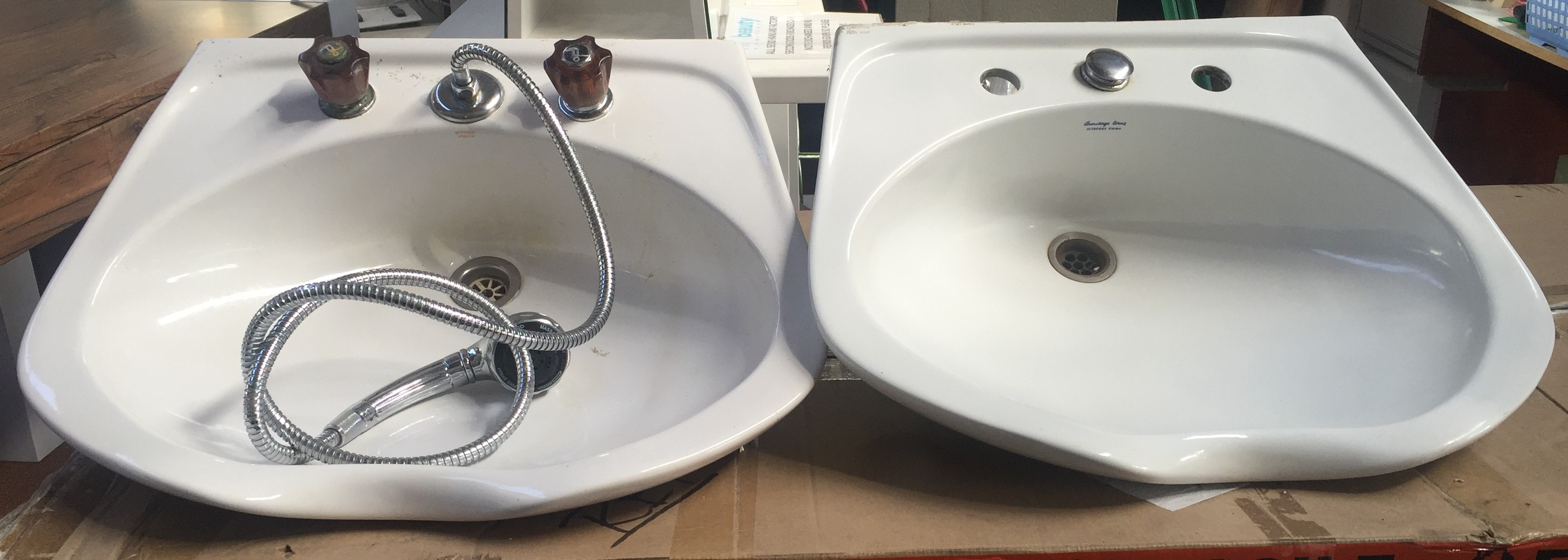 Second Hand Barber Basins