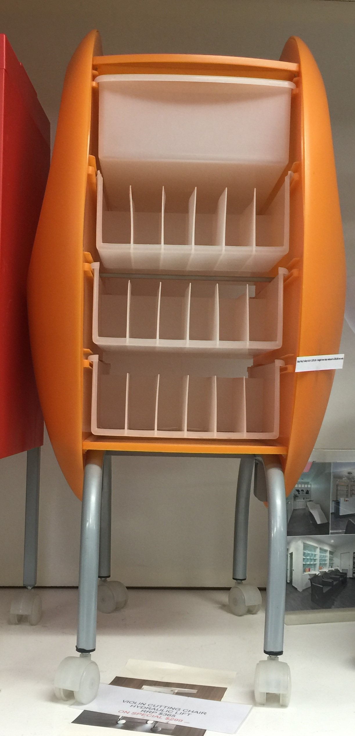 Maletti EX Showroom Stock Roly Poly Colour Trolley