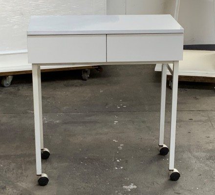 Second Hand Manicure Table on Wheels